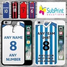 Personalised Premiership Football Shirt Style Mobile Phone Case - IPhone Models