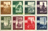 EBS Austria Österreich 1947 - Vienna Spring Fair - Industry - ANK 811-818 MNH**