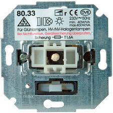 KOPP Unterputz Dimmer 806800004 mit Wippen-Wechselschalter-(Phasenanschnitt)