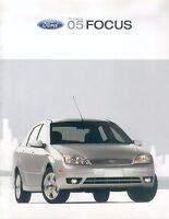 Ford Focus Prospekt USA 2005 brochure Autoprospekt Broschüre broschyr brosjyre