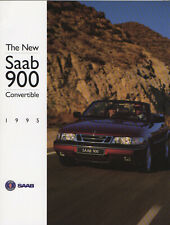 1995 Saab 900 Convertible Brochure - North American Market