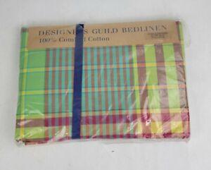 NEW Designers Guild 100% Cotton Bedlinen Queen Duvet KOSHI Cover 91 x 88 - ITALY