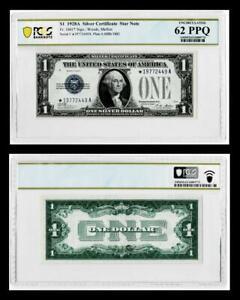 ***STAR NOTE***1928-A $1 SILVER CERTIFICATE NOTE~~FR.#1601* ~~PMG UNC 62EPQ