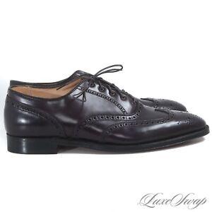 NIB #1 MENSWEAR Brooks Brothers USA Alden #8 Shell Cordovan 00034 Shoes 11.5 C