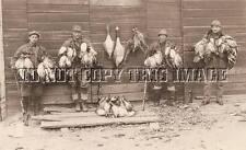 Antique Repro Photograph 8 x 10 Duck Goose Hunting Lots Dead Birds