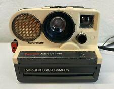 Vintage Polaroid SuperColor AutoFocus 3500 Auto Instant Film Land Camera - AS IS