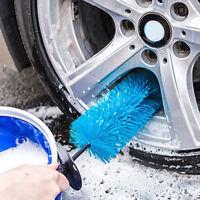 Car Wheel Tire Rim Scrub Brush Washing Cleaner Vehicle Cleaning Tool WX