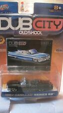Dub City Oldskool 1962 Cadillac In A Black 1:64 Scale Diecast 2002    NEW dc1300