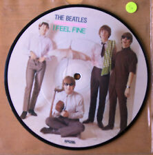 """Beatles Picture Disc 7"""" Vinyl I Feel Fine The 20th Anniversary"""