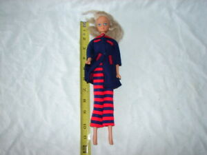 VINTAGE PLASTIC VINYL DOLL BARBIE CLONE REPRODUCTION MARKED SIMBA TOYS