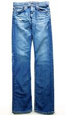 Big Star Womens Destroyed Blue Wash Joey Slouchy Fit Straight Jeans Size 24X33