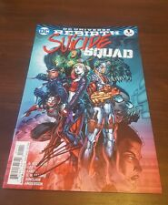 DC Comic Suicide Squad rebirth SIGNED BY ROB WILLIAMS mint unread graphic USA 1