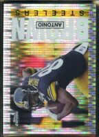 2015 Topps Chrome FB SET BREAK #AB Antonio Brown 60th Anniversary Pulsar #/50