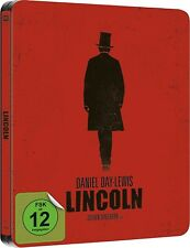 LINCOLN (Daniel Day-Lewis) Blu-ray Disc, Steelbook NEU+OVP