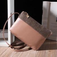 UK New Women Shoulder Bag Leather Satchel Handbag Tote Purse Hobo Messenger Bags