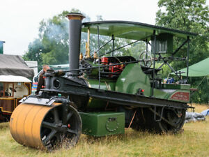 HO OO Langley Models Robey Tandem Steamroller Kit RW17 NOS