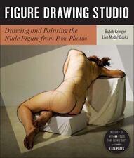 FIGURE DRAWING STUDIO - KRIEGER, BUTCH/ LIVE MODEL BOOKS (COR) - NEW BOOK