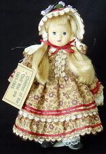 "Springford ""Children of the Civil War Era 1861-1865"" Porcelain Doll w/Stand 9.5"""