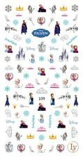 70 Disney Frozen Elsa Anna Olaf Nail Decals 3D Nail Art Sticker for Nail Polish