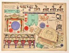 Pellerin Imagerie D'Epinal 1003 Le Cirque Moyennes vintage paper model