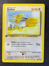 Doduo 48/102 Common | Base Set French 1st Edition | WOTC Pokemon TCG | NM-M