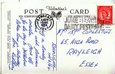 Genealogy Postcard- Family History - Copleston - Rayleigh - Essex     U3459