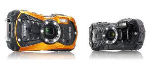 Pentax / Ricoh WG-50 wasserdichte Digitalkamera incl. Zubehörpaket WG50 schwarz