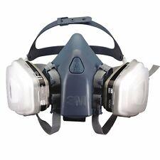 3m 7 In 1 7502 Half Face Reusable Respirator For Spraying Amp Painting Medium