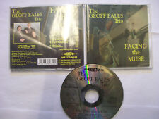 THE GEOFF EALES TRIO Facing The Muse  – 2002 UK CD – Jazz – BARGAIN!