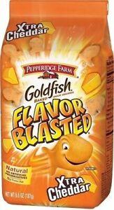 Pepperidge Farm Flavor Blasted Xtra Cheddar Goldfish Baked Snack Crackers