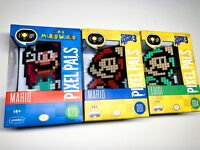 Mario Pixel Pals Collectible Lighted Figures You Choose