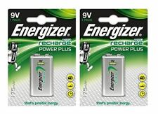 2 x Energizer 9V PP3 Block Rechargeable Battery 175 mAh