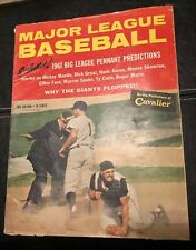 1961 MAJOR LEAGUE BASEBALL HANK AARON MICKEY MANTLE ROGER MARIS MATHEWS TY COBB