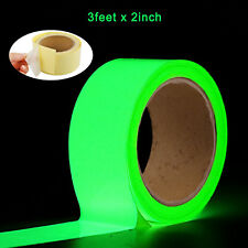 Glow In The Dark Luminous Fluorescent Night Self-adhesive Safety Sticker Tape BY