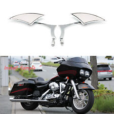 Us Chrome Motorcycle Rearview Side Mirrors For Harley-Davidson Street Glide Road(Fits: Mastiff)