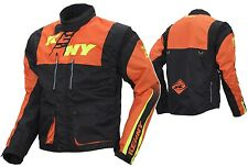 GIACCA JACKET KENNY TRACK ENDURO ARANCIO ORANGE NERO KTM MANICHE STACCABILI T XL