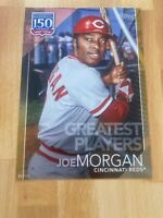 2019 Topps 150 Uears Of Baseball Joe Morgan SP/10 Greatest Players 5x7