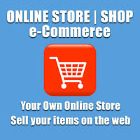 ECOMMERCE WEBSITE | ONLINE SHOP WEB DESIGN - YOUR OWN ONLINE STORE | UNLIMITED