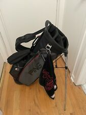 Ping Hoofer 4 Series E2 Carry Stand Bag with Rain Cover - Nice