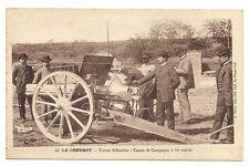 le creusot usines schneider  canon de campagne à tir rapide
