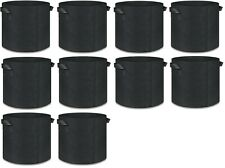 10 Pack Grow Bag Garden Heavy Duty Non-Woven Aeration Plant Fabric Pot Container