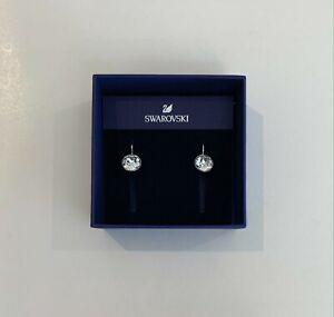 BRAND NEW Swarovski 'Bella Mini Earrings' (Rhodium Plated)