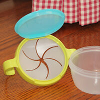 LN_ EG_ HK- Baby Kids Non-Toxic Spill-Proof Safety Feeding Eating Snack Food B