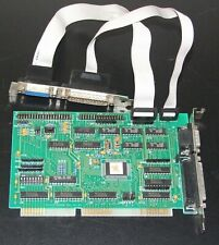 Multi I/O controller 16-bit ISA card for 286 386 486 computer vintage