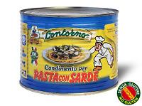 Condimento pasta con sarde lattina da 240gr Sicilia