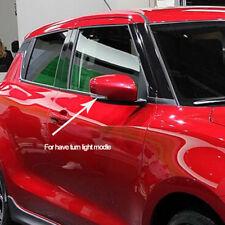 For Suzuki Swift 2017 2018 2019 ABS Chrome Side Door Rearview Mirror Cover Trim