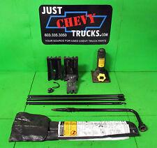 99 06 Chevy Silverado GMC Sierra Tahoe Yukon Suburban Spare Tire Jack & Tools