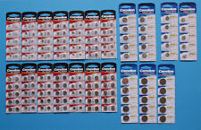 Camelion Knopfzellen Batterien Auswahl AG0 - AG 13 & CR 1220 - CR 2450 - NEU