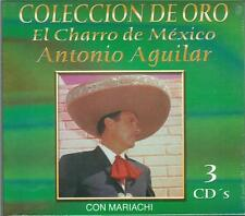 Antonio Aguilar CD NEW El Charro De Mexico Mariachi BOX SET Con 30 Canciones !