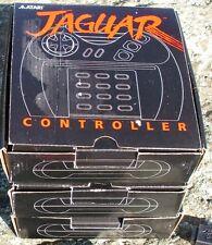 Atari Jaguar Joystick Controller/Thumbpad New In Box w/Grey Button NOS
